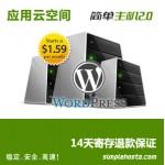 wordpress 专用简单云主机